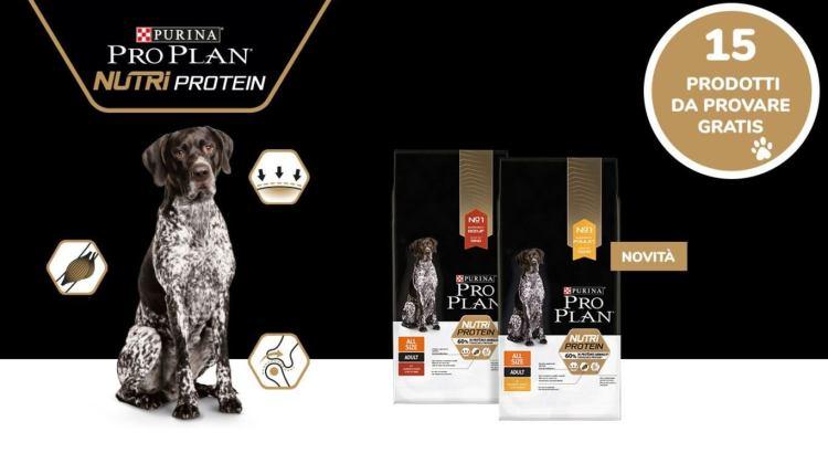 Diventa tester crocchette PRO PLAN Nutriprotein per cane adulto