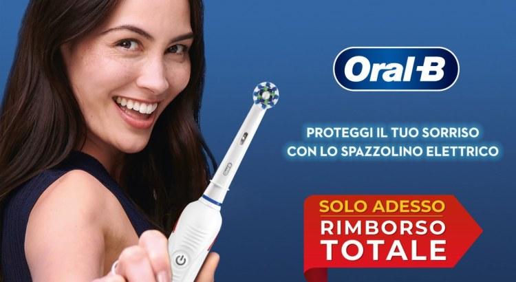 Oral-B Rimborso Totale dello spazzolino elettrico