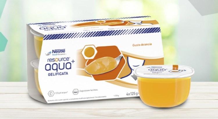 Richiedi subito il campione gratuito di Resource Aqua+ di Nestlè