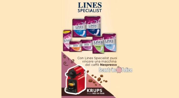 Concorso Lines Specialist Acqua e Sapone La Saponeria vinci Nespresso Krups