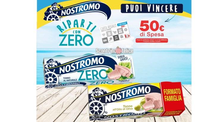 Concorso Nostromo Riparti con Zero da Bennet vinci 200 buoni spesa da 50 euro