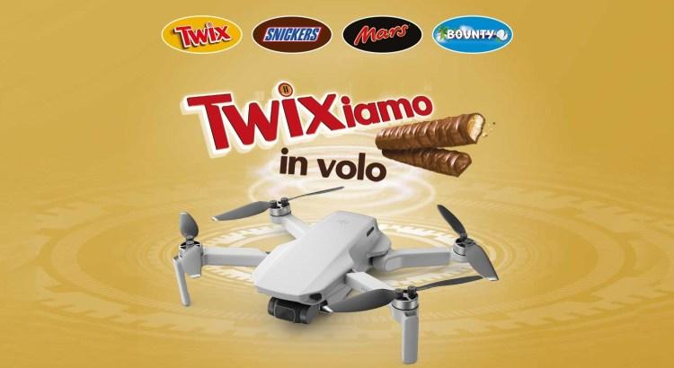 Concorso Twix Mars Bounty Snickers Twixiamo in volo vinci Droni DJI Mavic Mini
