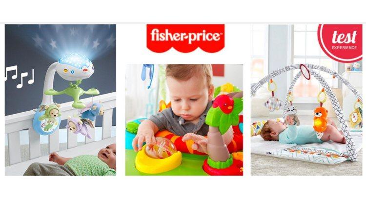 Diventa tester giocattoli Fisher Price