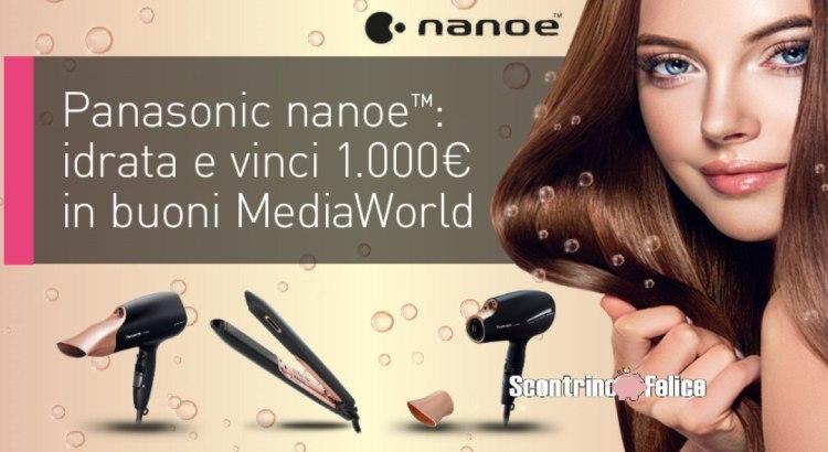 concorso Panasonic Idrata e Vinci da Mediaworld