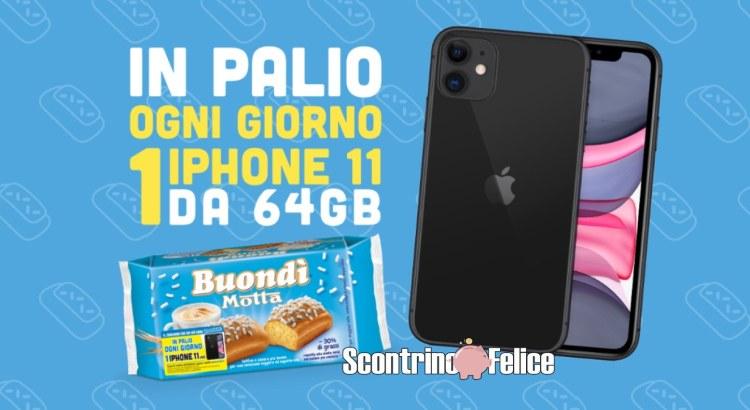 concorso buondì vinci iPhone 11