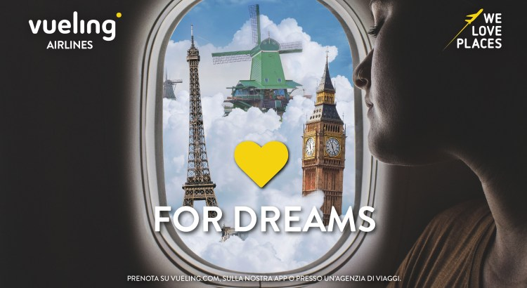 Concorso gratuito Vueling LOVEforDREAMS