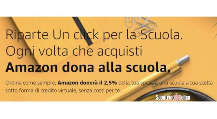 Amazon Un click per la Scuola 2020 2021