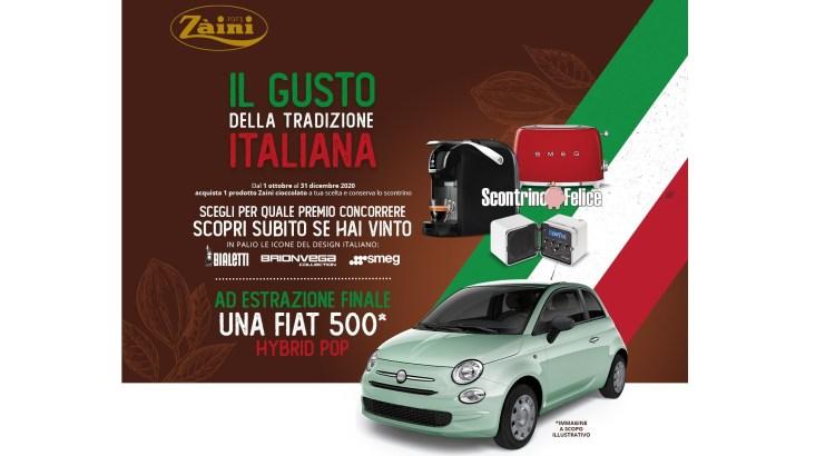 Concorso cioccolato Zaini Il gusto della tradizione italiana