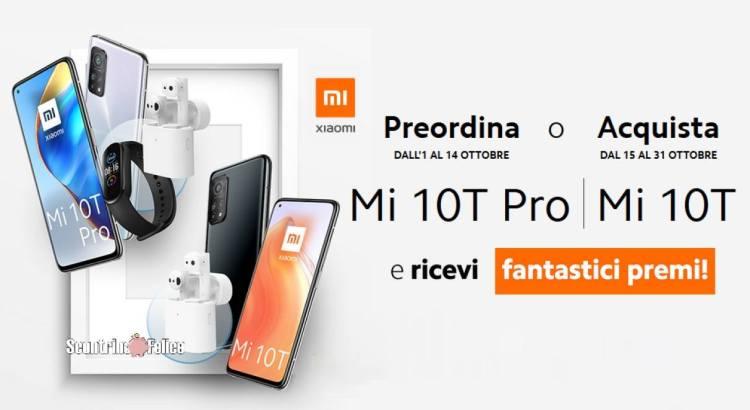 Premio certo Xiaomi Mi 10T e Mi 10T Pro