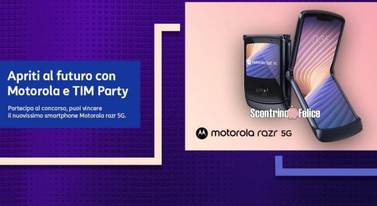 Apriti al futuro con Motorola e TIM Party