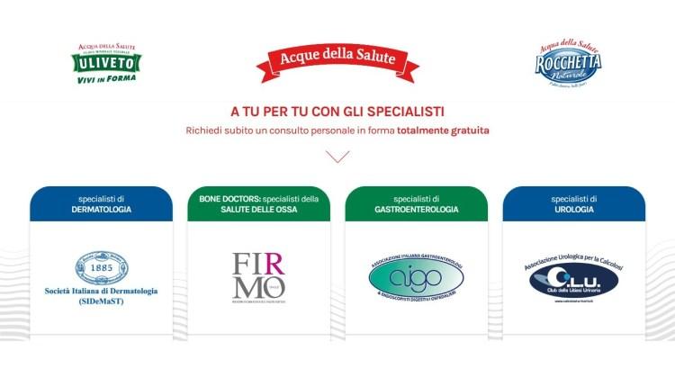 Uliveto e Rocchetta consulto medico gratuito online