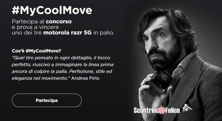 Vinci gratis 3 Motorola razr 5G