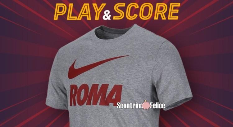Vinci gratis la nuova tshirt training ground 2020-21 della Roma