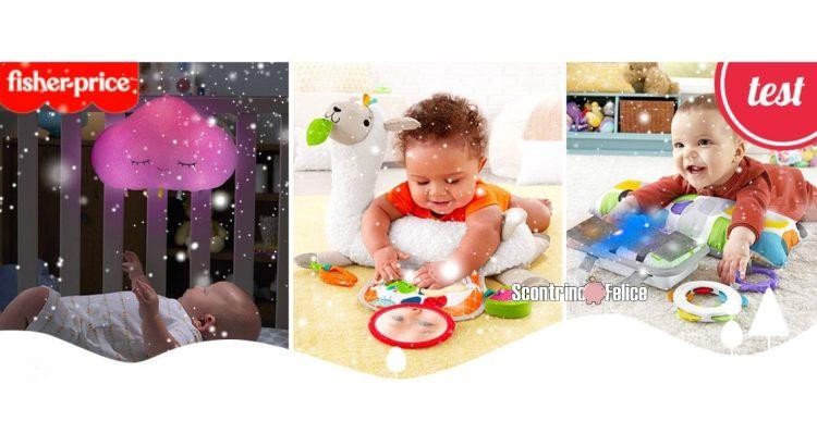 Diventa tester giocattoli per Neonati Fisher-Price