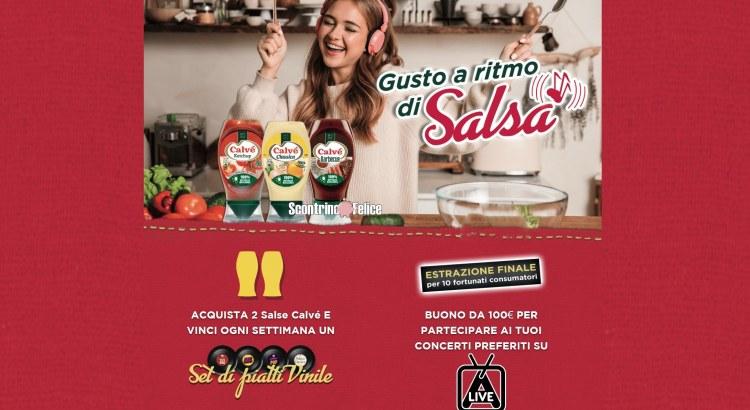concorso calvè Un gusto al ritmo di salsa