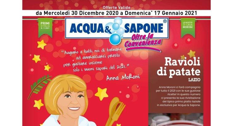 Volantino Acqua e Sapone valido dal 30-12-20 al 17-01-21-01
