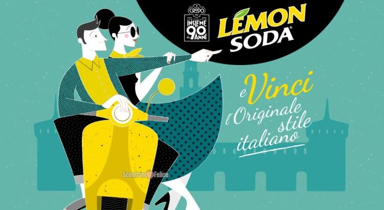 Concorso Lemonsoda e vinci l'originale stile italiano vinci Forniture Gift Card LOVETHESIGN e vespa elettrica