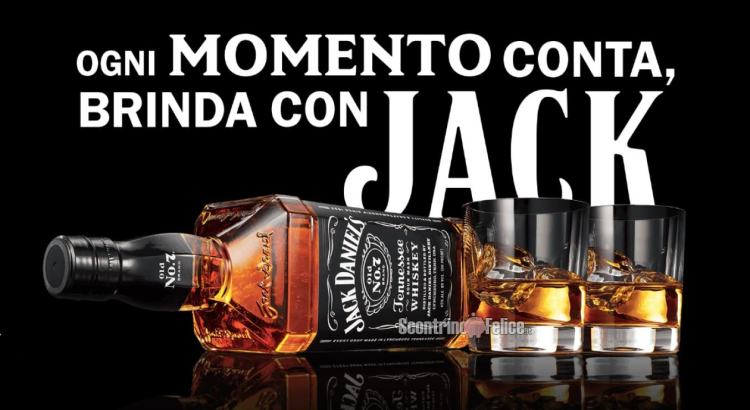 Jack Daniel's premio sicuro Make it count