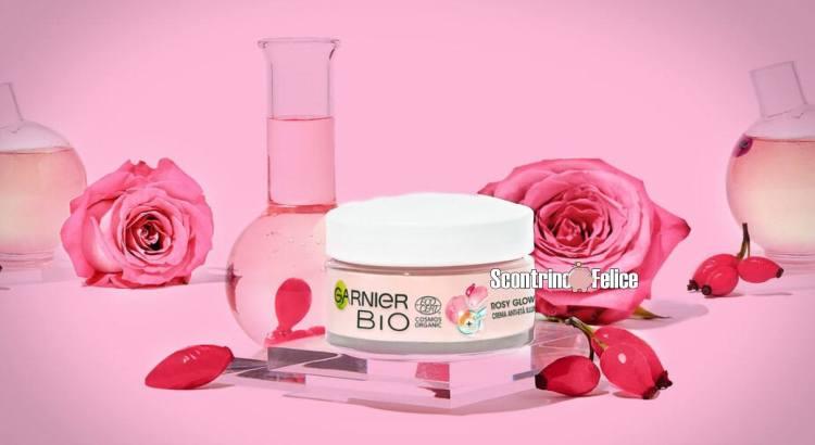 Diventa tester Garnier Bio Crema Rosy Glow 3-in-1