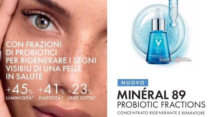 Diventa tester Mineral 89 Probiotic Fractions Vichy