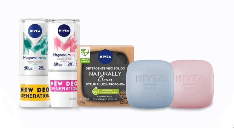 Diventa tester NIVEA Naturally Clean e MAGNESIUMDRY