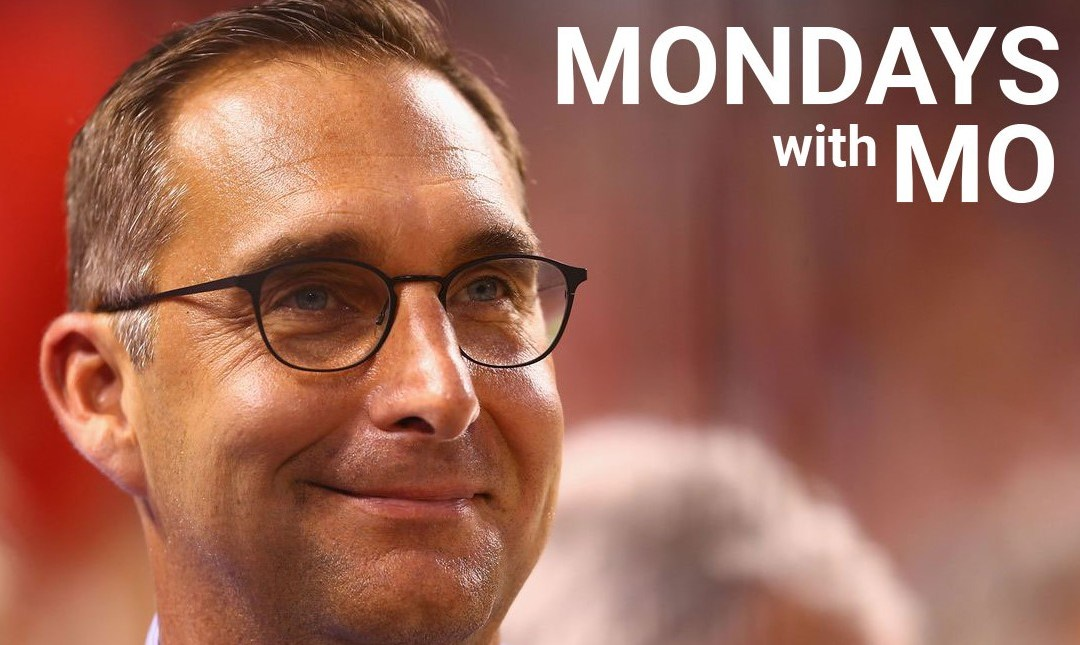 Mondays with Mo- May 13, 2019