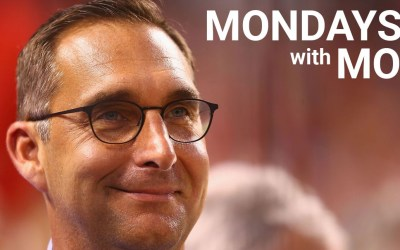 Mondays with Mo- March 18, 2019