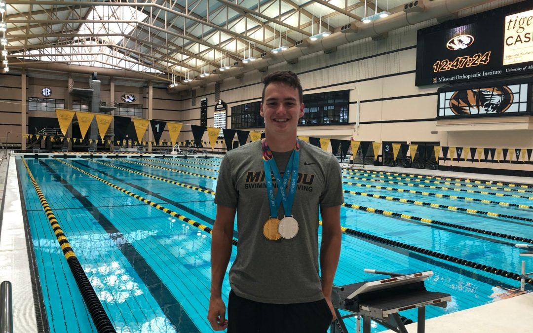 Nick Alexander – Missouri's Team USA Gold Medalist Swimmer and Olympic Hopeful
