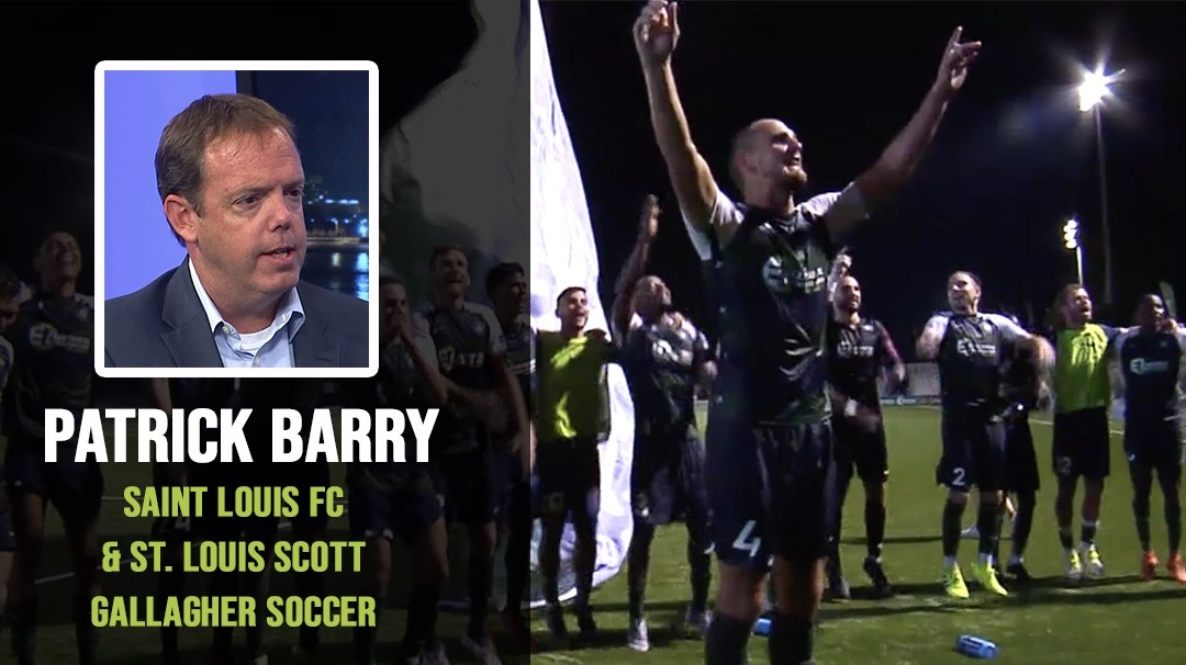 Saint Louis FC and St. Louis Scott Gallagher – Patrick Barry