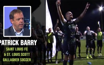 Saint Louis FC and St. Louis Scott Gallagher – Patrick Barry