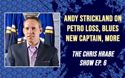 Andy Strickland on Petro Loss, Armstrong Salary Cap, Future Blues Captain: The Chris Hrabe Show Ep. 6