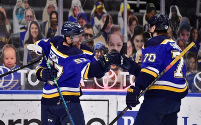 BERNIE'S Blues Review: David Perron Is True Blue. Plus: Another Comeback, Another Close Game, Another Win.