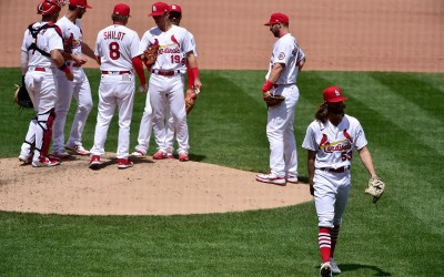 Bernie's Redbird Review: Most Irritating Problem For Cardinals Pitching. Too Many Walks In The Park. Fix It.