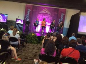 Run Disney nutritionist Tara Gidus and the mother runner authors; Dimity  McDowell and Sarah Bowen Shea speak at a seminar.