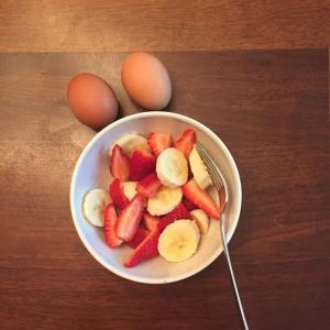 Eggs and fruit, anyone?