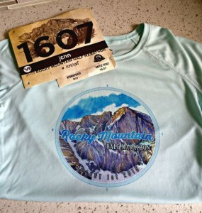Got my bib and my shirt!