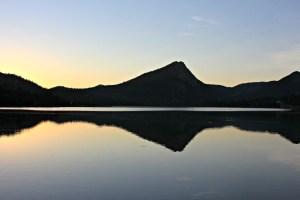 Sunrise over Lake Estes