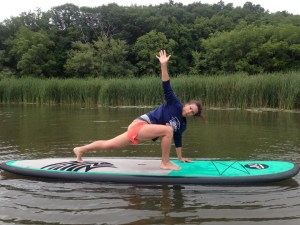 I fell in love with SUP yoga and went repeatedly this summer.