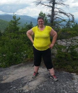 Me, at the top of a mountain. Anything is possible.