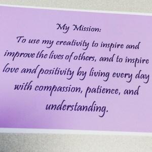 Jenn's Mission Statement