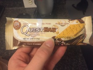 Quest Bars are heavy on protein and light on sugar!