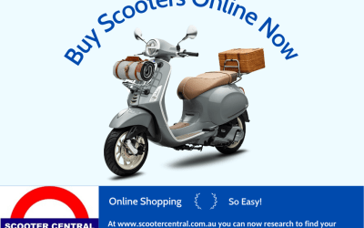 Buy a Scooter Online Now!  Free Delivery!