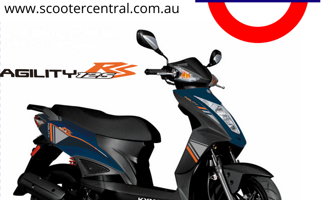 New Colour Added to the popular and affordable Kymco Agility RS 125