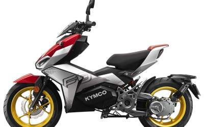 KYMCO Just Announced The NEW ELECTRIC F9-  WOW