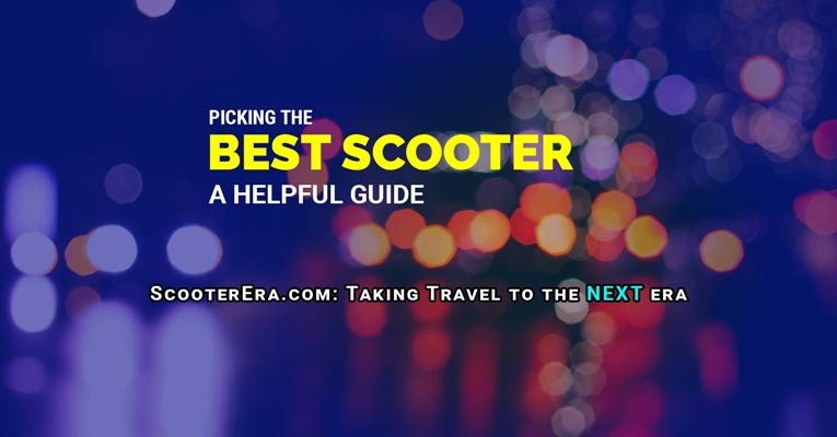A Guide to Picking The Best Self Balancing Scooter