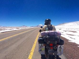 The Mills crossing the Atacama Desert in Chile, October 2015.