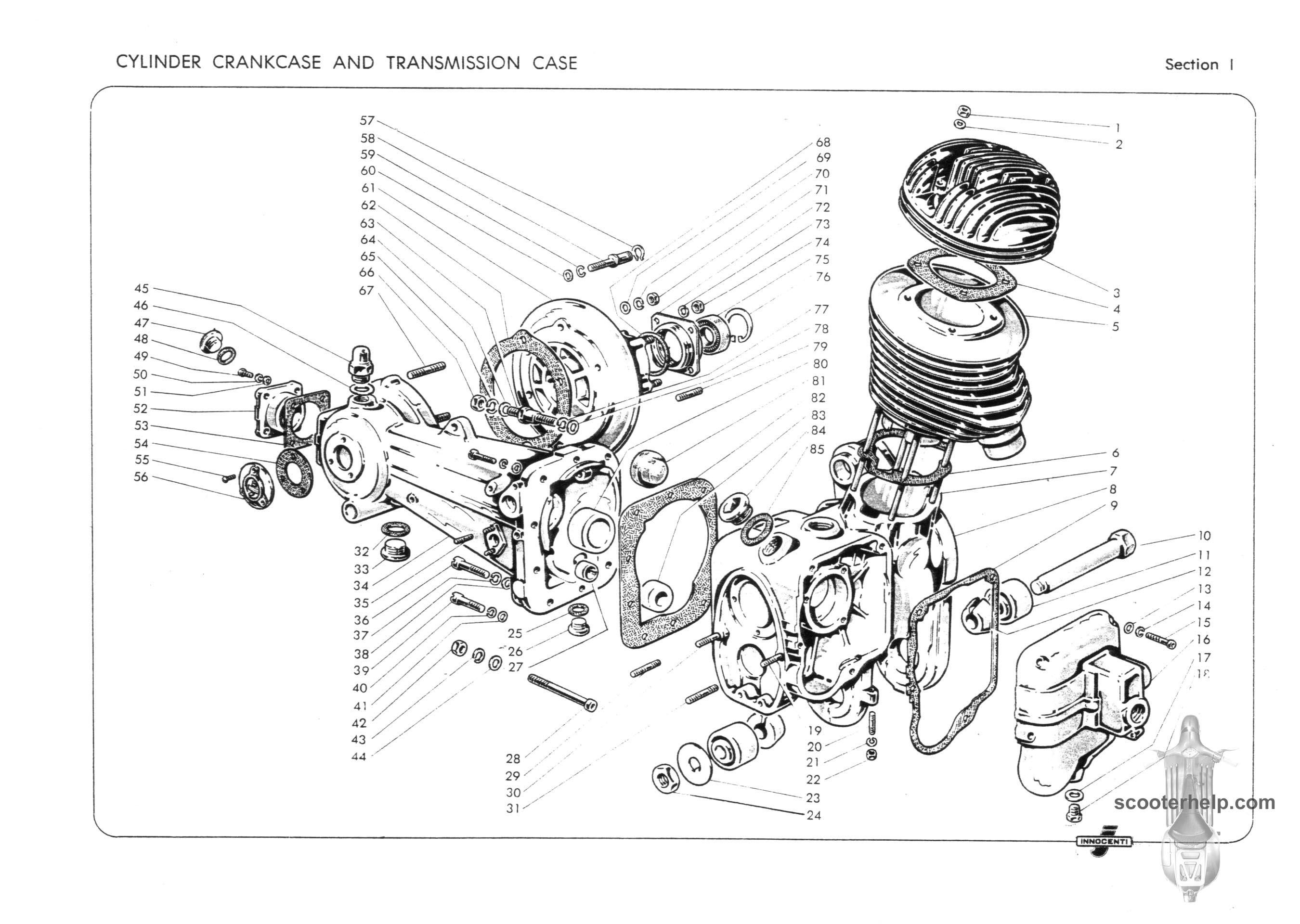 Lambretta D Amp Ld Parts Book