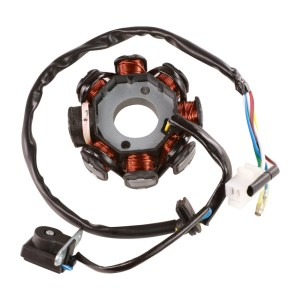 8 Coil, 5 Wire Stator, GY6 Scooterworks USA