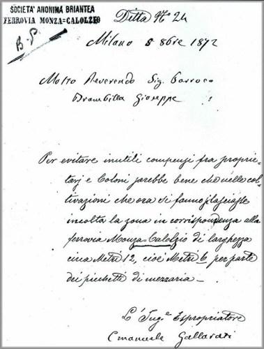 lettera parroco