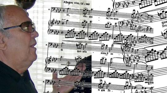 Il baritono Felice Schiavi
